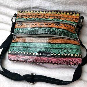 Artistic crossbody bag - colorful and unique